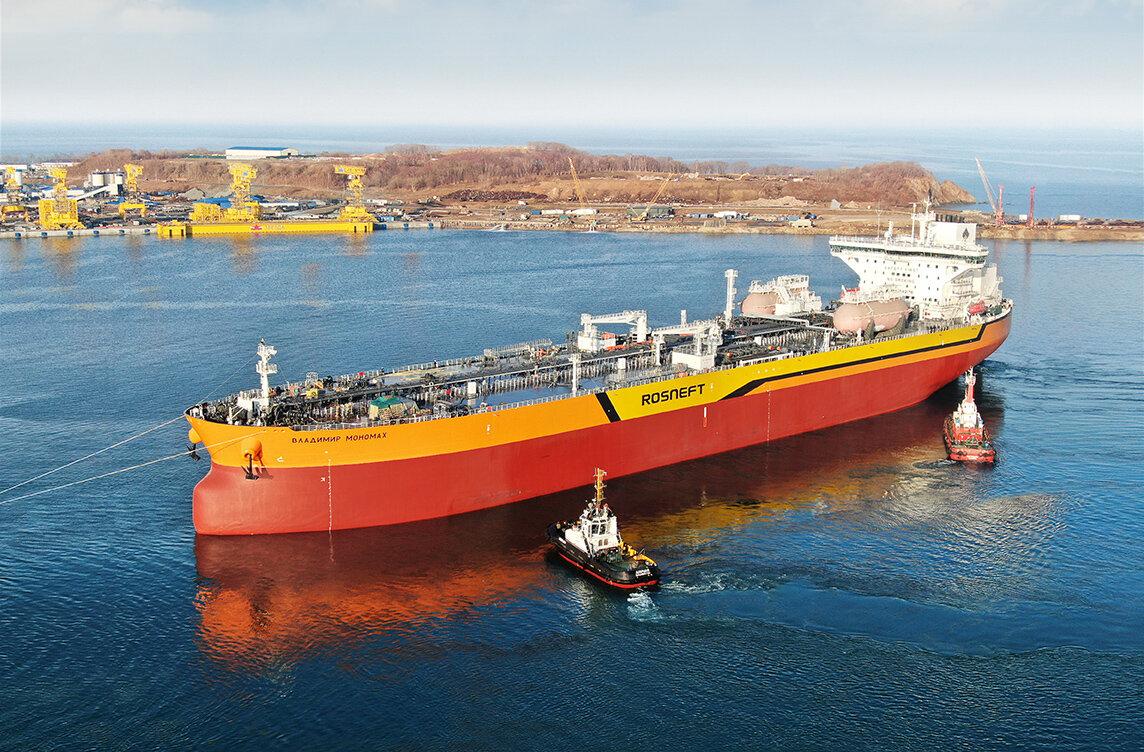 В России спустили на воду первое за 30 лет крупнотоннажное судно