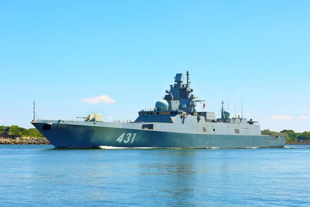Фрегат «Адмирал флота Касатонов» будет передан ВМФ