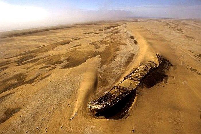 """пески Гудвина или """"Великий пожиратель кораблей"""""""