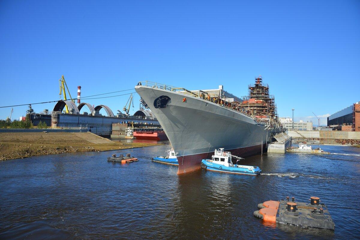 Крейсер «Адмирал Нахимов» выйдет на ходовые испытания до конца 2020 года