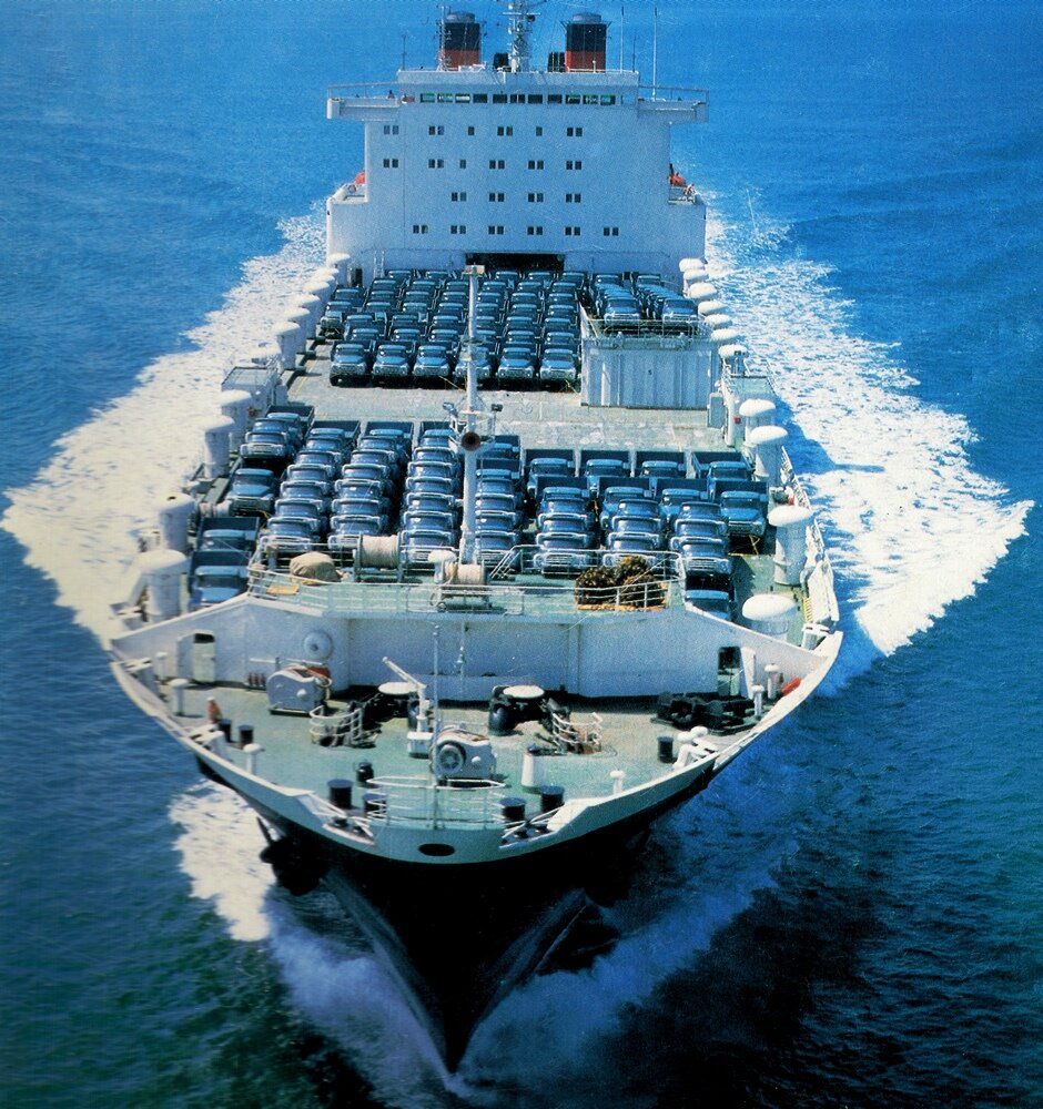 Как советский ролкер-газотурбоход попал на службу в американский флот