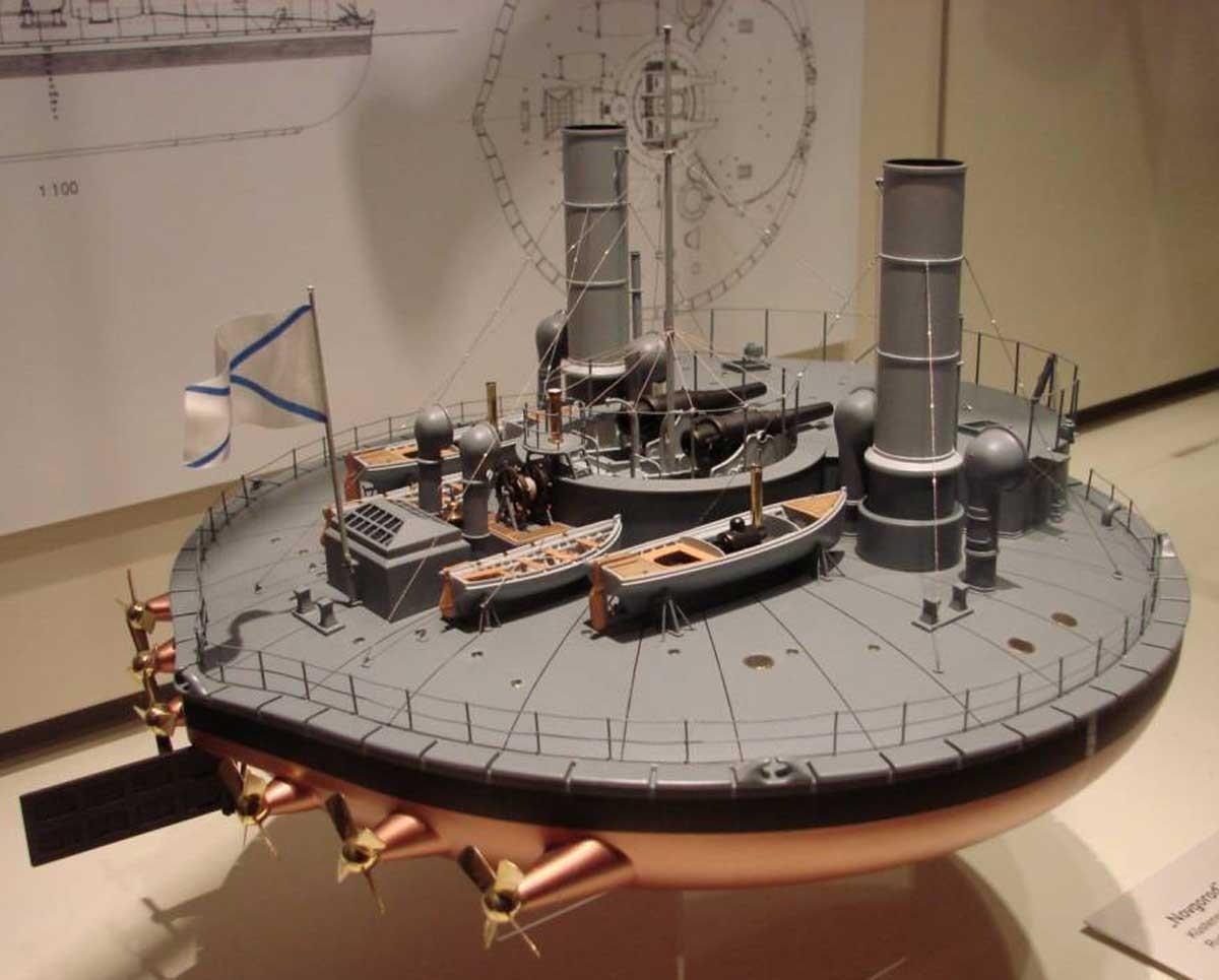 Броненосный корабль «Вице-адмирал Попов»
