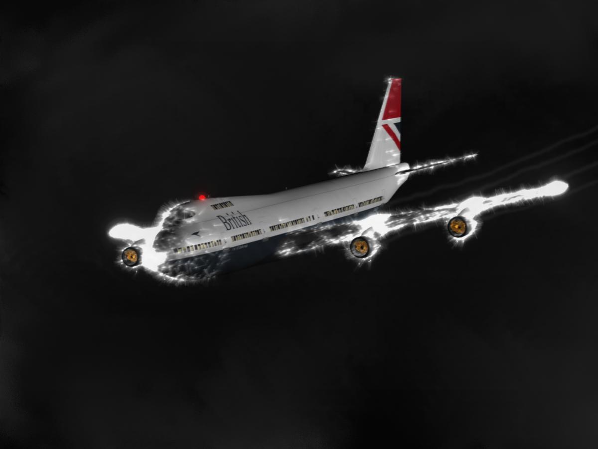 отказ двигателей