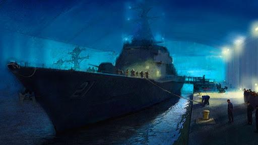 учебный корабль USS Trayer