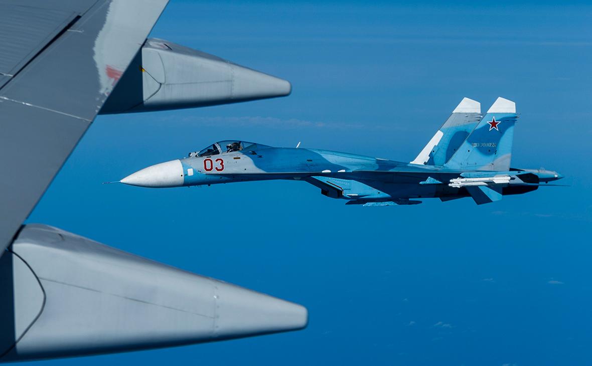 Су-27 перехватил самолеты НАТО над Балтикой