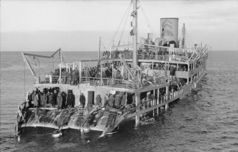 гибель парохода Иосиф Сталин