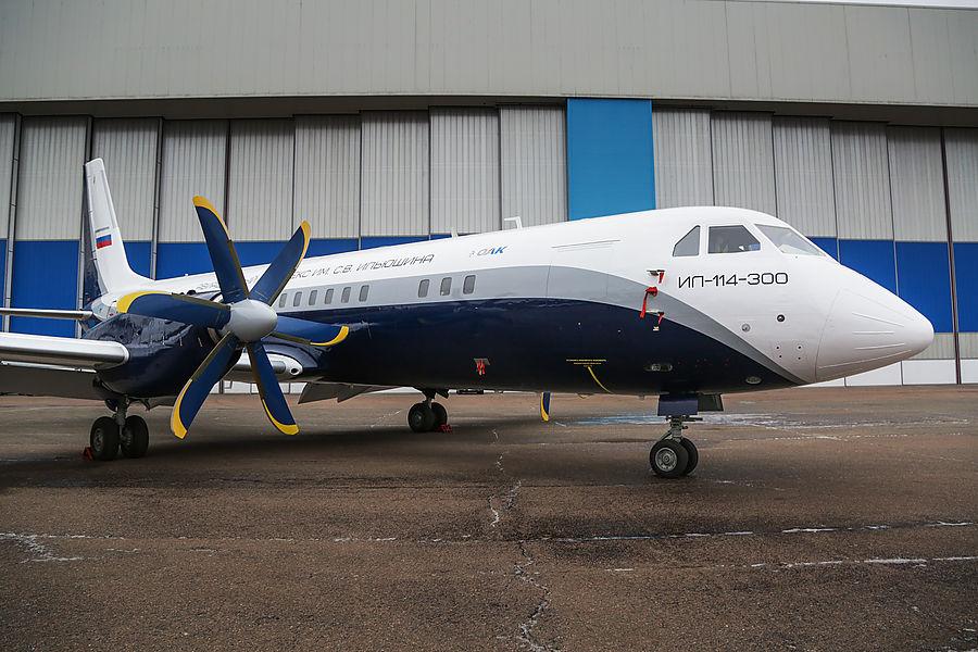 Названы сроки серийных поставок Ил-114-300