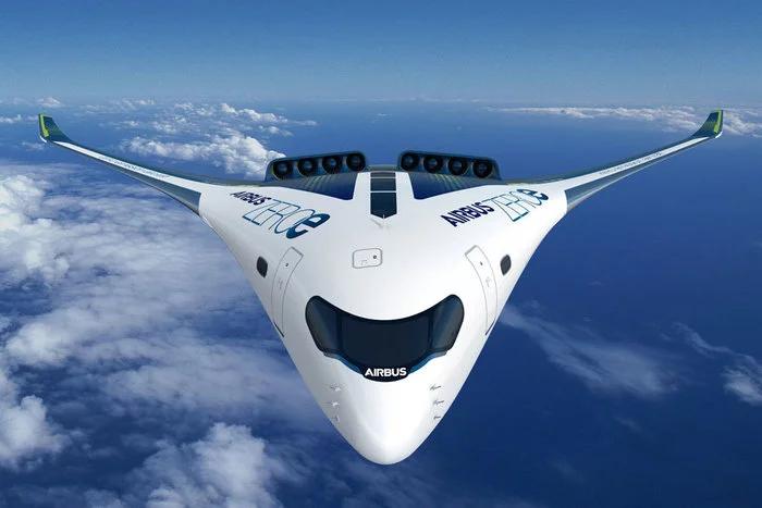 Airbus изобрел самолет с нулевым выборосом
