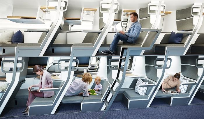 «Сказочный» концепт: Zephyr Aerospace показала, как будет выглядеть эконом-класс в самолете
