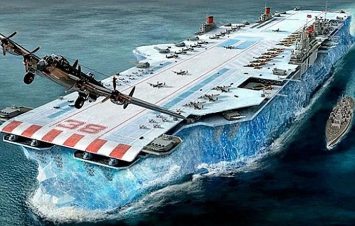 «Хабаккук»: авианосец изо льда