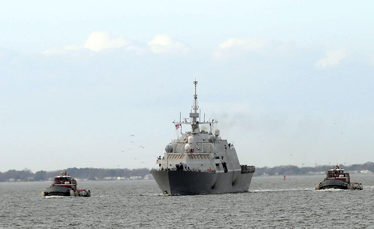 Для чего США были нужны литоральные корабли?
