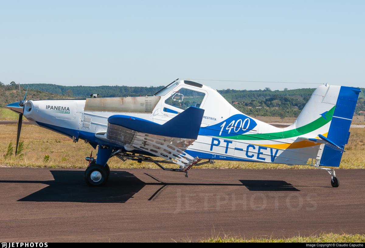В Бразилии испытывают первый серийный самолет на электротяге