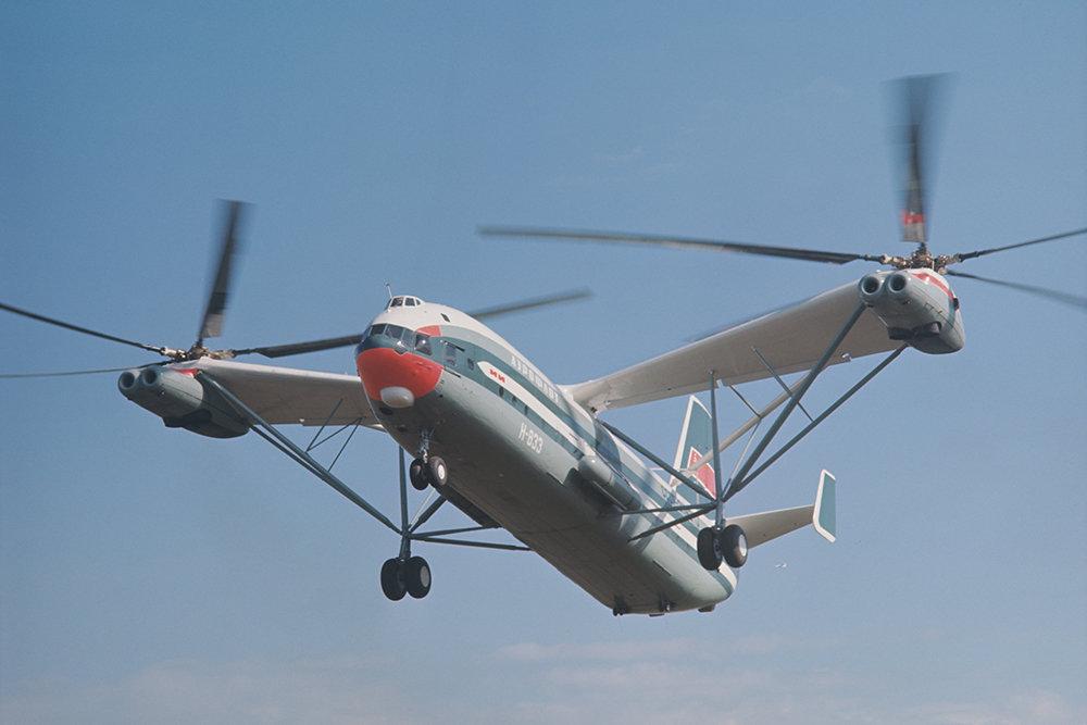 Почему «самый-самый» Ми-12 так и не полетел?