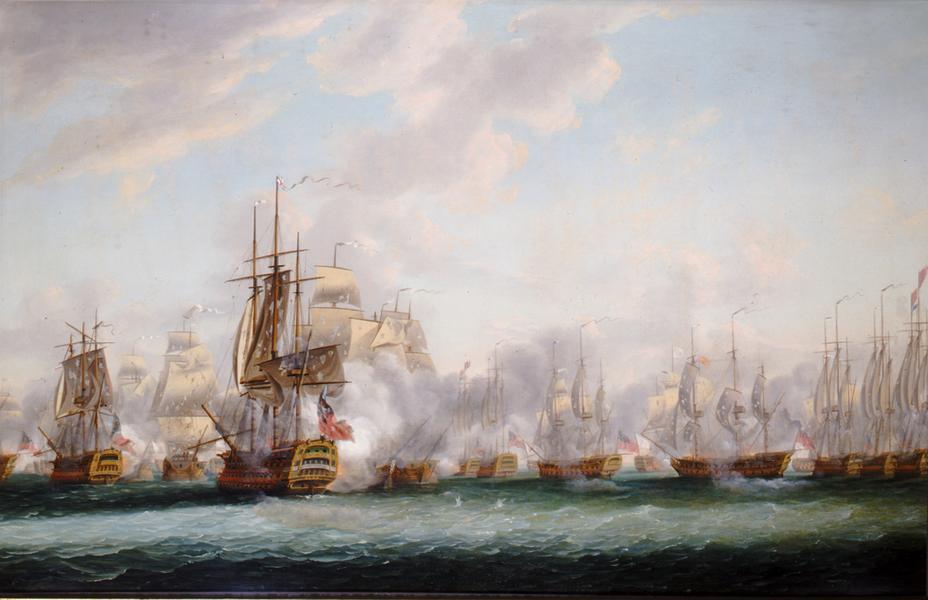 Почему парусные корабли вставали перед боем в линию?