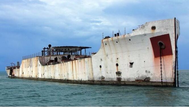 Эти странные корабли из бетона: вынужденное решение кораблестроителей