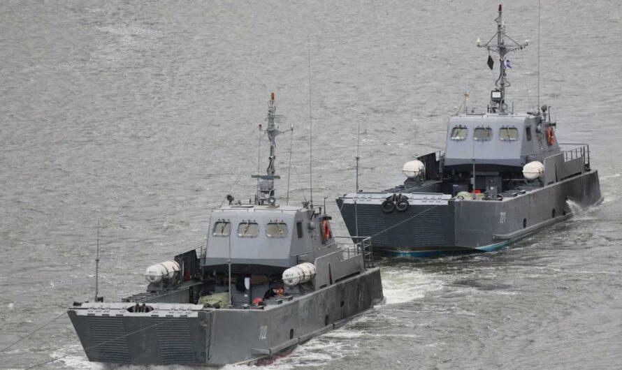 Корабли Каспийской флотилии продолжили межфлотский переход после стоянки в Ростове-на-Дону