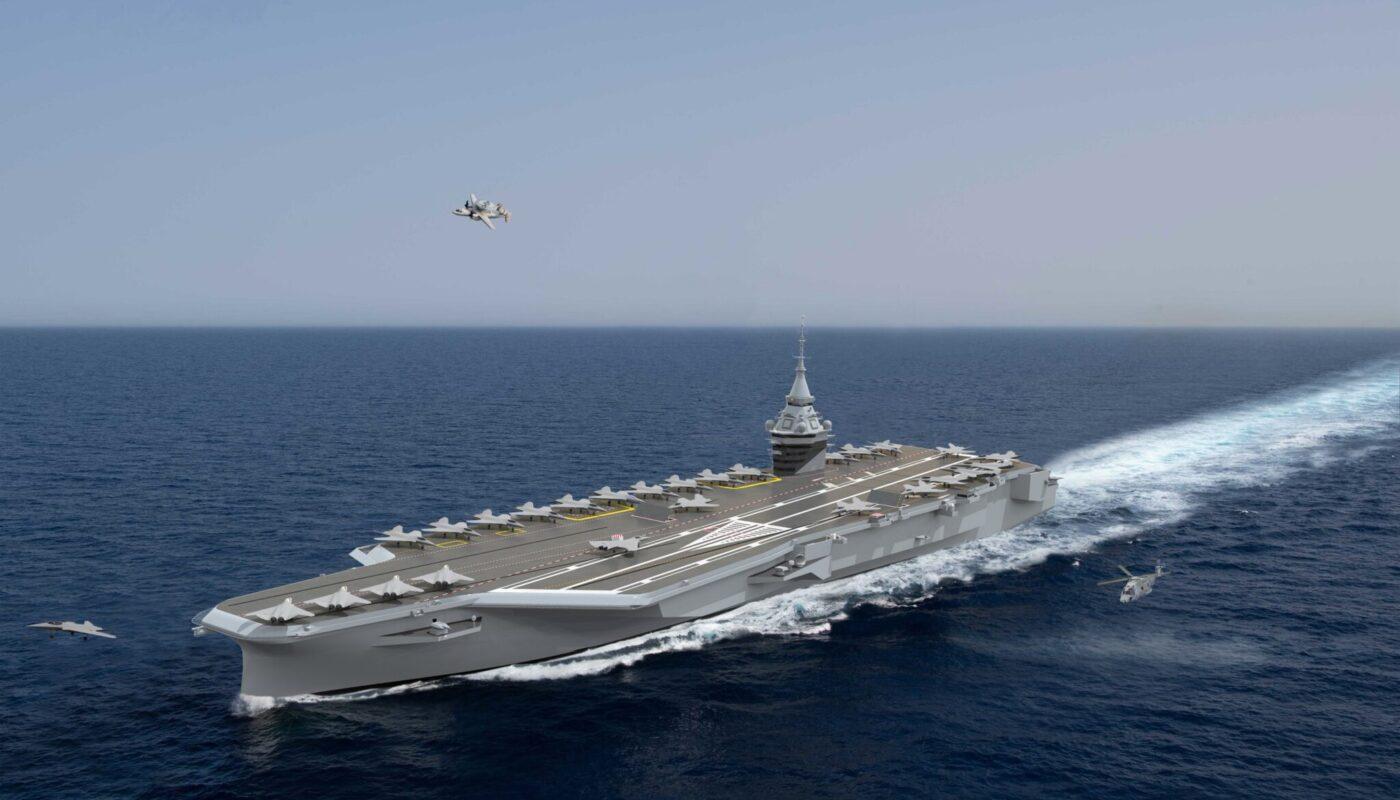 Проект авианосца PANG