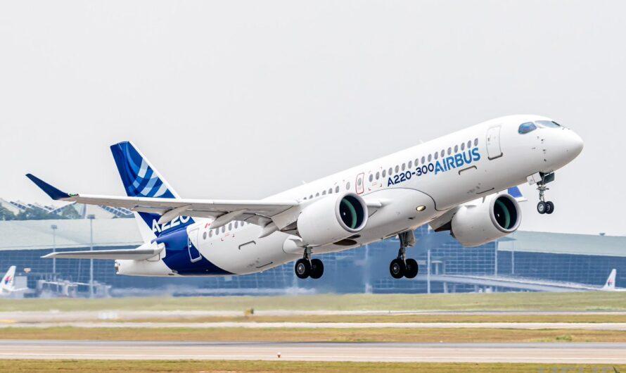 «Азимут» планирует выполнять международные рейсы на Airbus A220-300