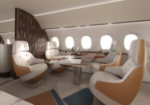 Салон Dassault Falcon 10X //Фото: Dassault Aviation