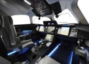 Кабина пилотов Dassault Falcon 10X //Фото: Dassault Aviation