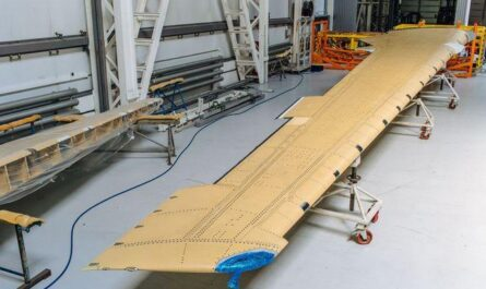 консоль крыла мс-21