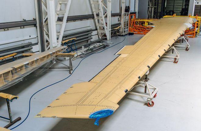 Консоль крыла из российских композитов установят на первый серийный МС-21