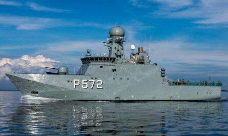 Датский патрульный корабль типа Knud Rasmussen