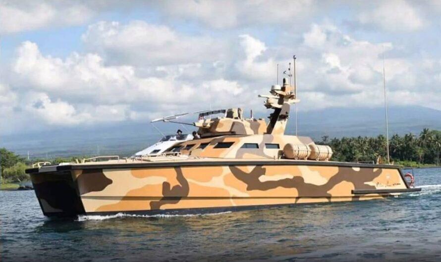В Индонезии испытали первый катер-танк Х18 Tank Boat