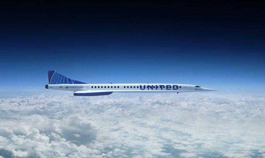 Boom Supersonic заключил контракт на поставки 50 сверхзвуковых авиалайнеров для United Airlines