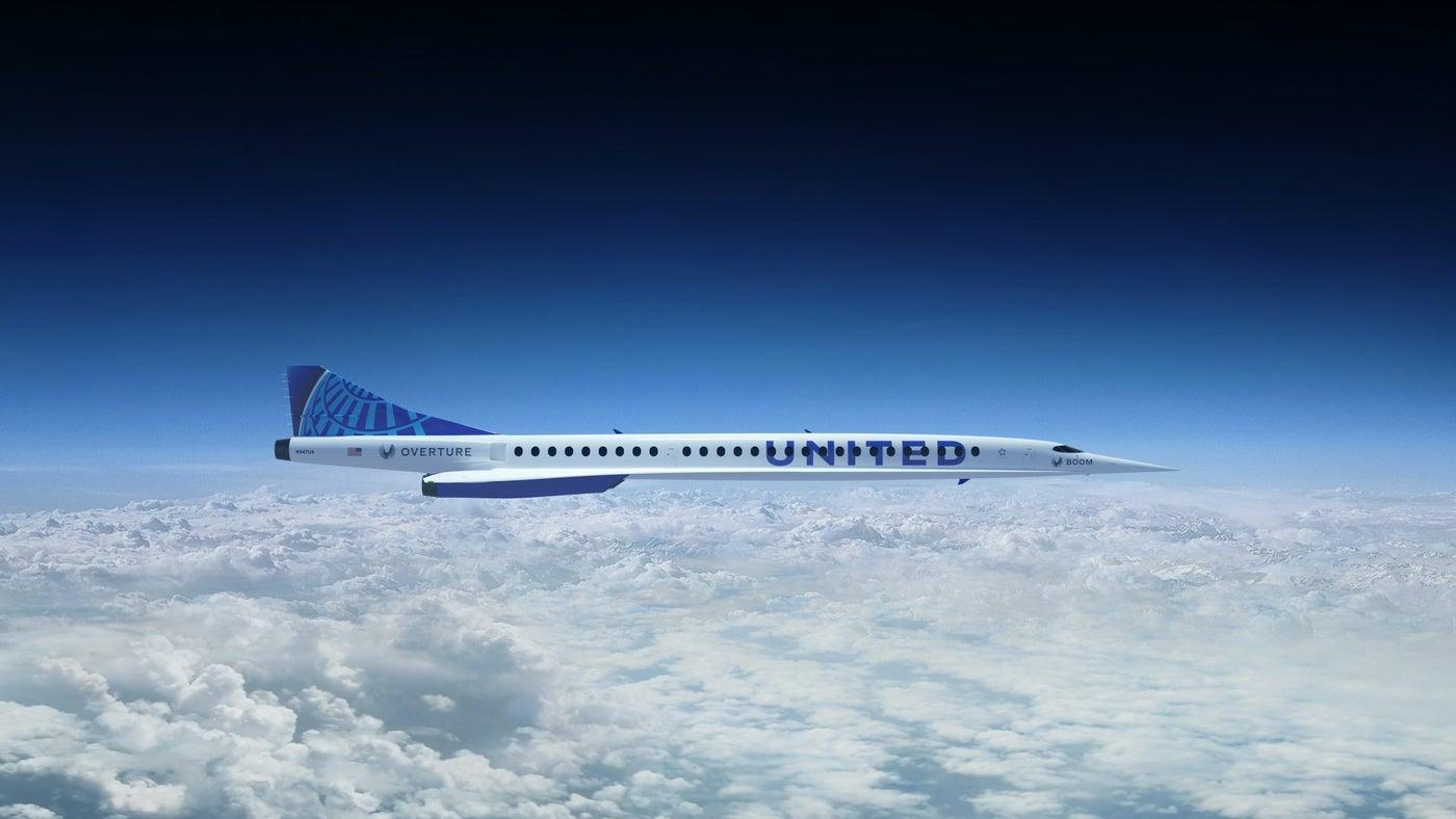 Сверхзвуковой самолет Boom Overture