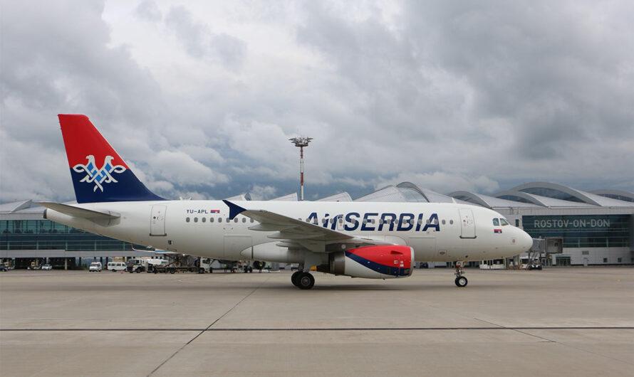Авиакомпания Air Serbia приступила к выполнению полетной программы в Ростов-на-Дону