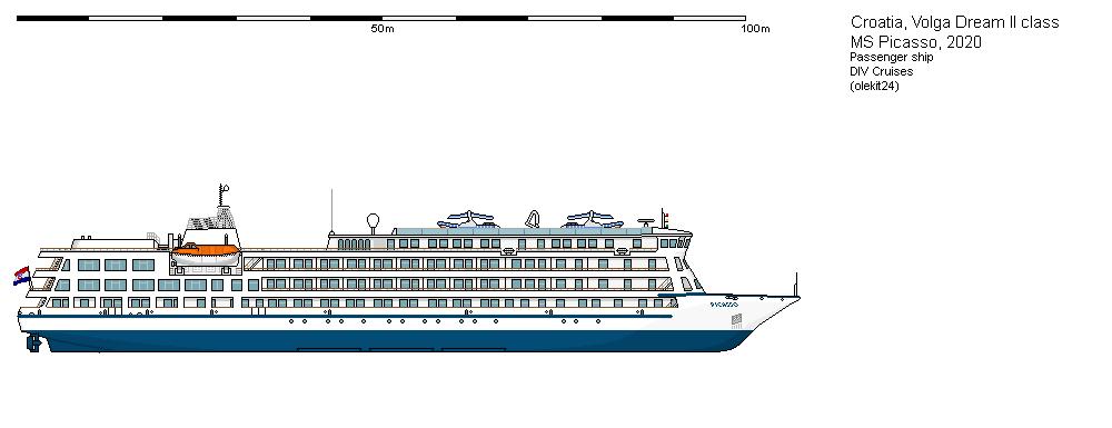 Схема лайнера Picasso