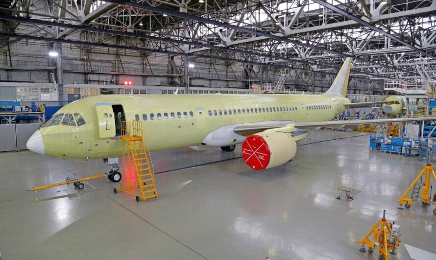 «Россия» получит шесть авиалайнеров МС-21 в 2022 году