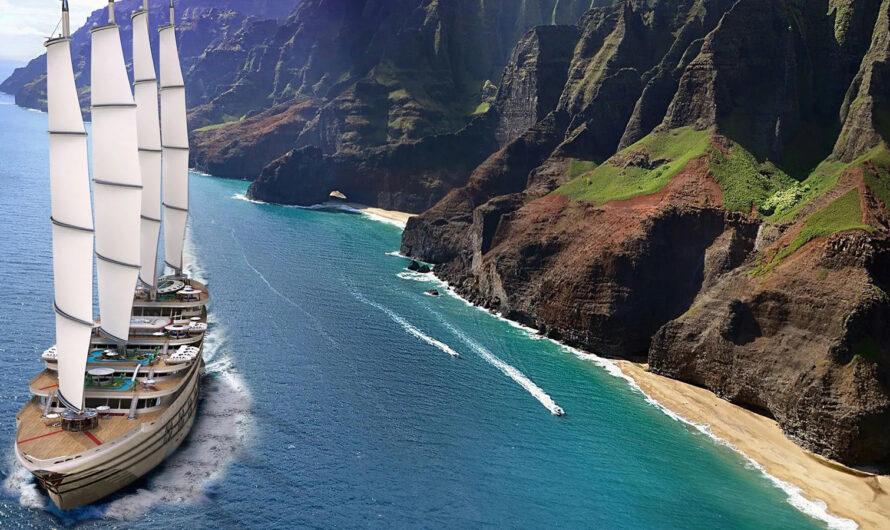 В США представили концепцию 160-метровой мегаяхты Galleon