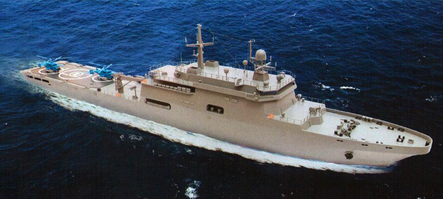 Корпус первого БДК типа «Кайман» построят к концу 2021 года