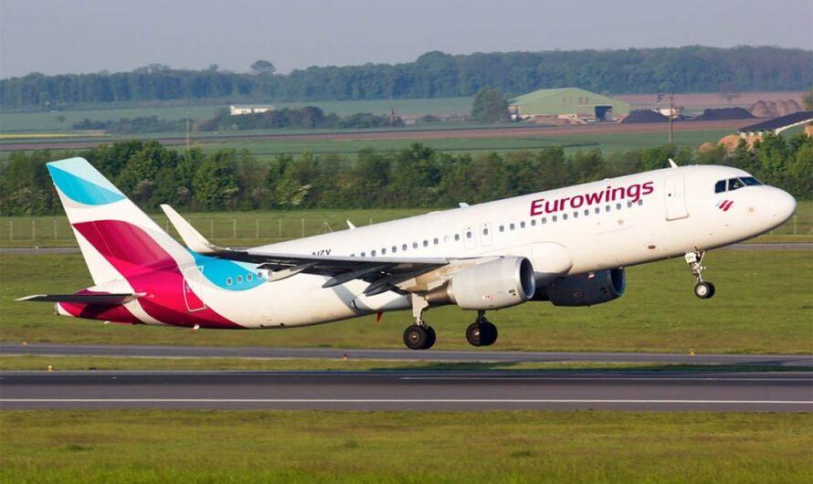 Немецкий Eurowings полетел в Краснодар и Екатеринбург из Дюссельдорфа