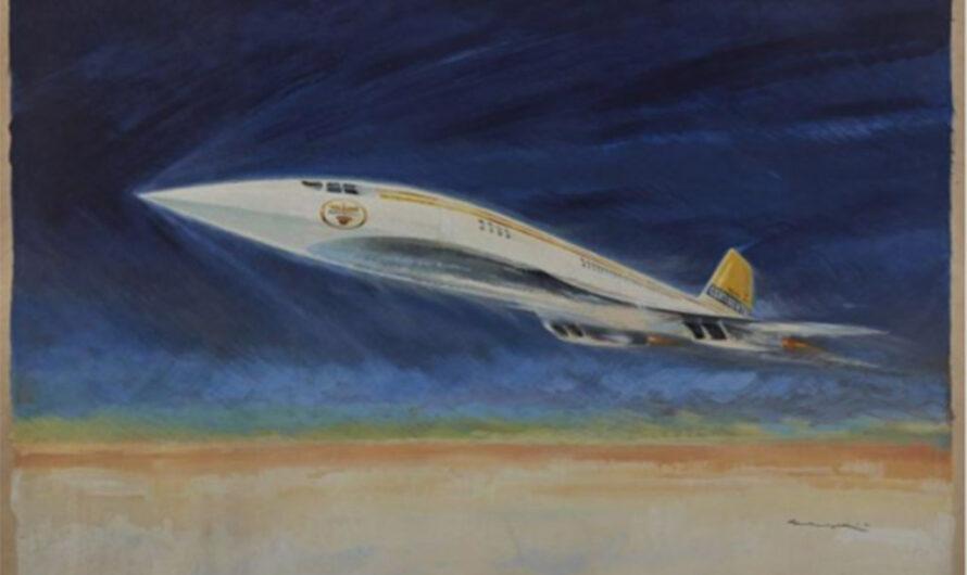 Проект Super-Caravelle: забытый предшественник Concorde