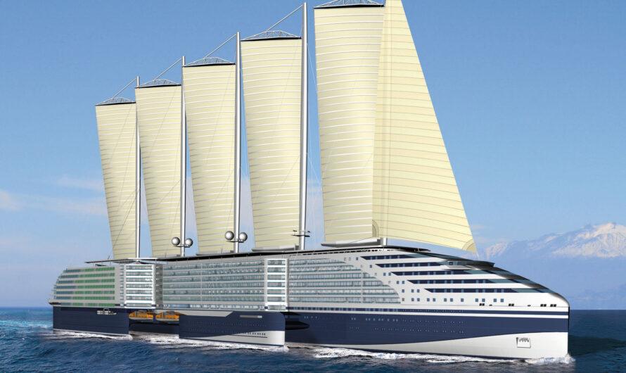 Eoseas Concept: ультра экологичное круизное судно, оставшееся в проекте