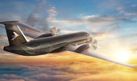 Embraer турбовинтовой авиалайнер будущего