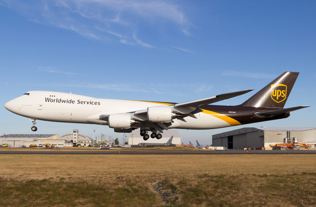 UPS Airlines Boeing 747-8