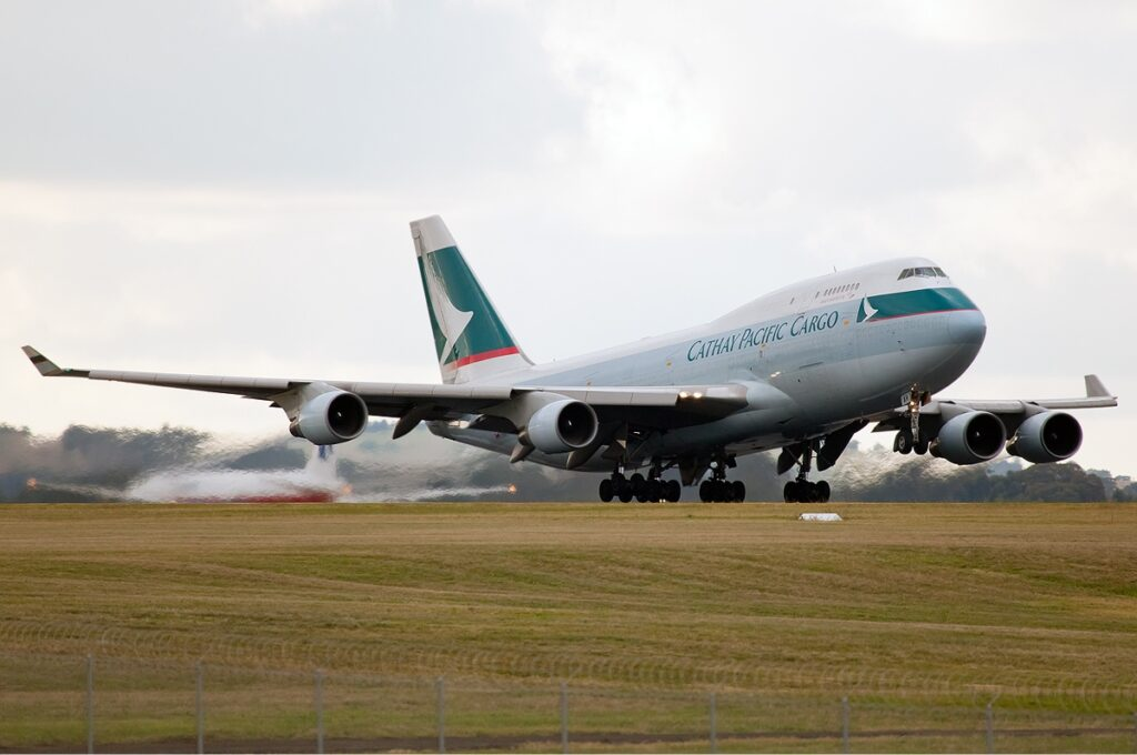 Cathay Pacific Cargo Boeing 747-400