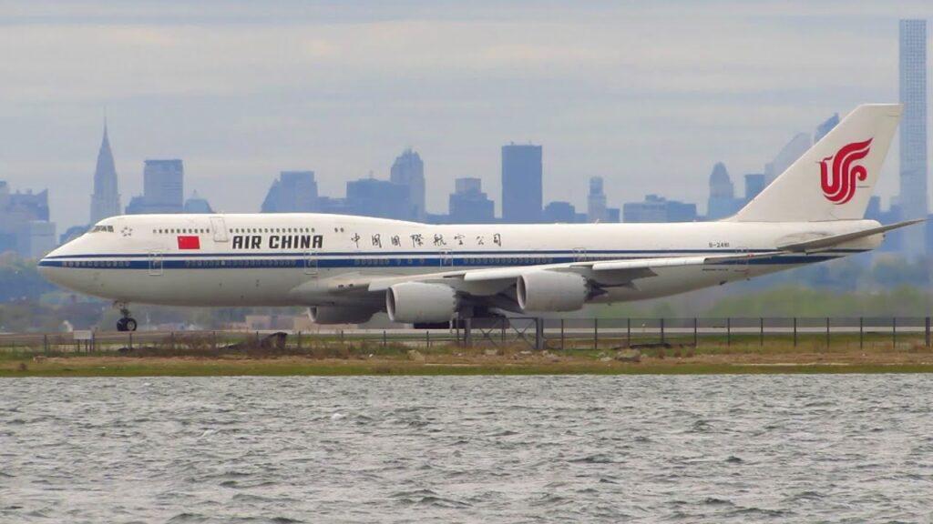 Air China Boeing 747-8i