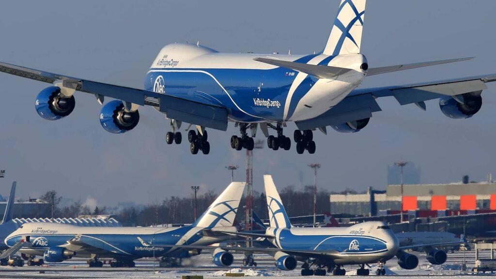 AirBridge Cargo Boeing 747-8F