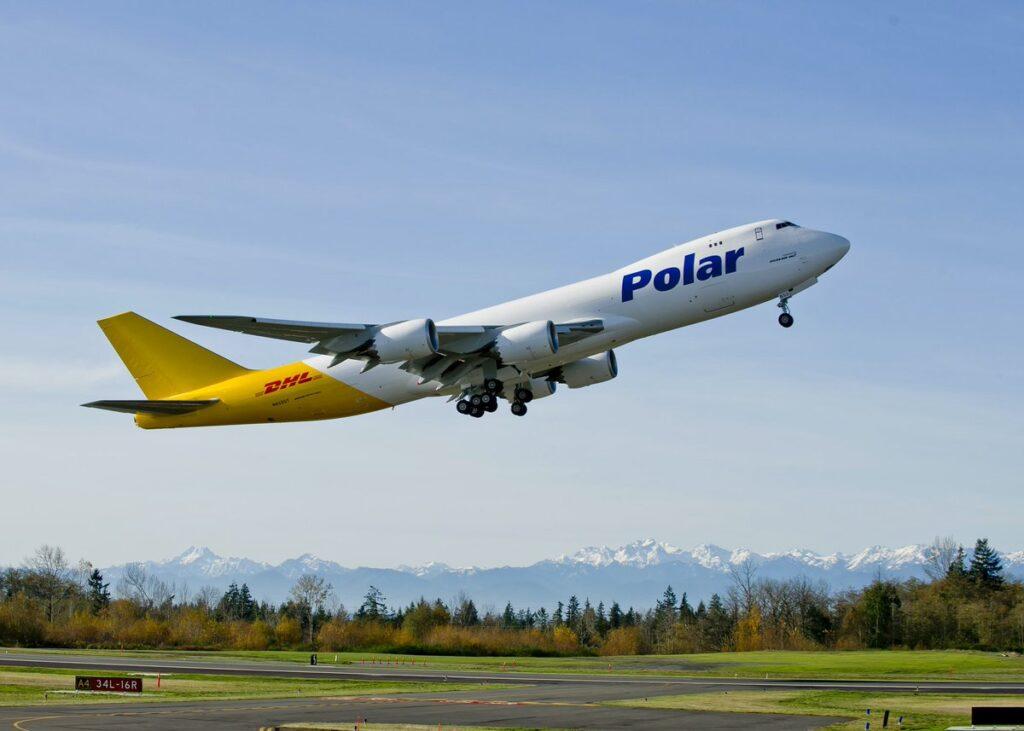 Polar Air Cargo Boeing 747-8F