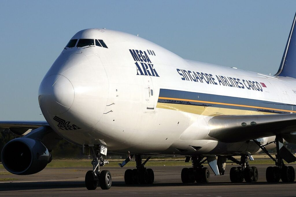 Singapore Airlines Boeing 747-400