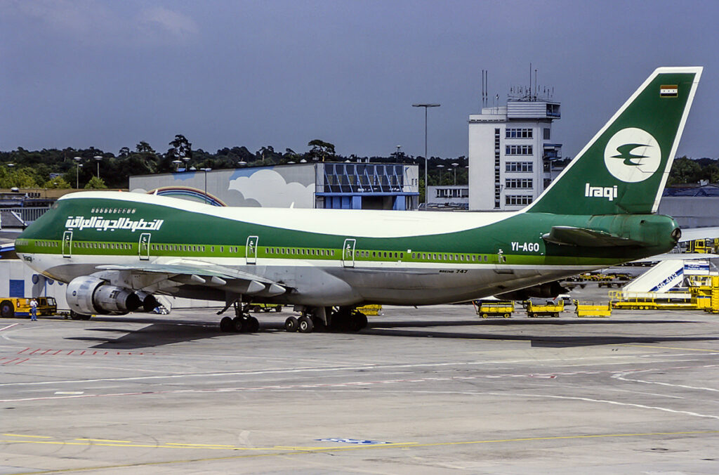 Iraqi Airways Boeing 747-400