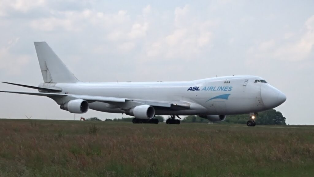 ASL Airlines Belgium Boeing 747-400