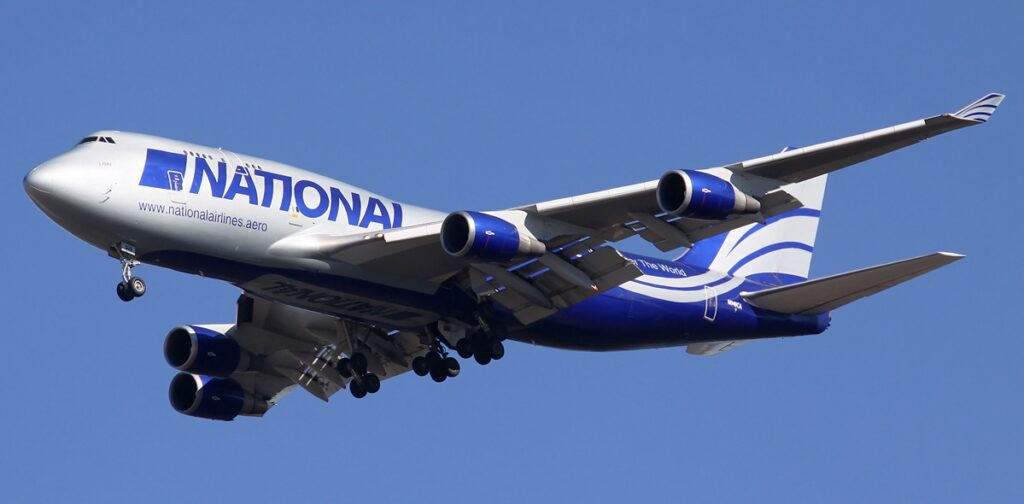 National Airlines Boeing 747-400