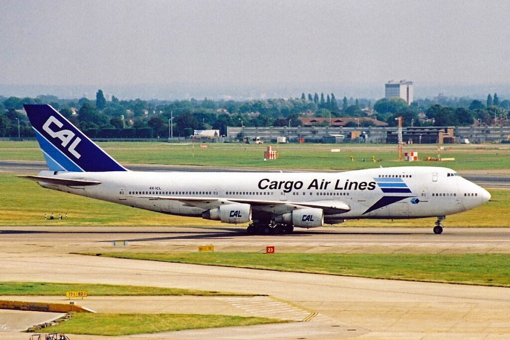 CAL Cargo Airlines Boeing 747-400