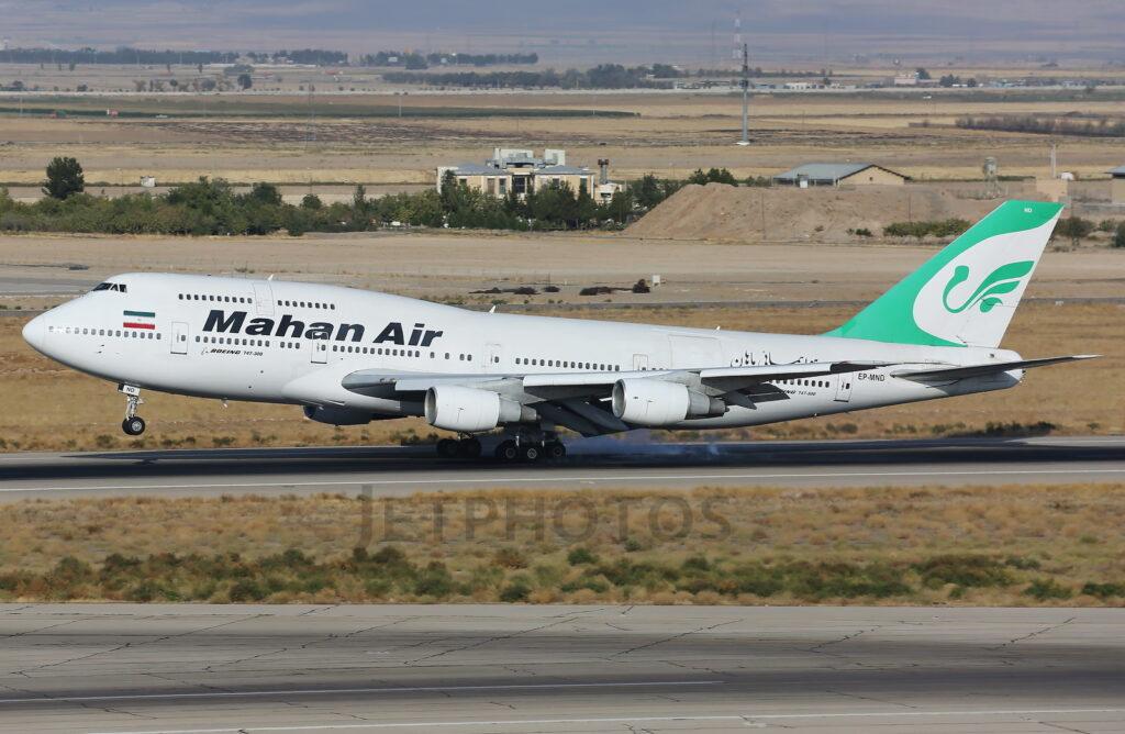 Mahan Air Boeing 747-30